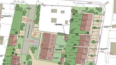 350,000 could buy you this former gas works site in March that has consent for 19 homes. But it has