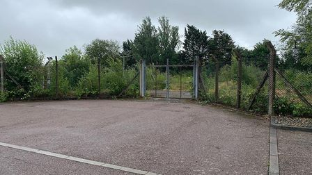 £350,000 could buy you this former gas works site in March that has consent for 19 homes. But it has
