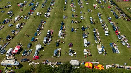Life after lockdown. Massive carboot sale in the Fens,Skylark Garden Centre , MarchSunday 12 July 20