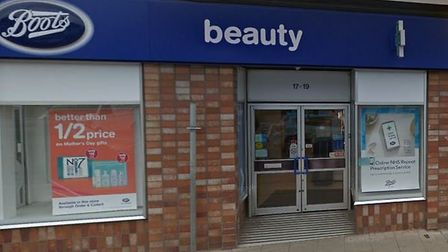 Two robbers threatened members of staff at Boots chemist in Broad Street, March, before clearing a s