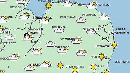 Cambridgeshire will be hotter than Mykonos and Ibiza this week, sparking a 'Hot Weather Alert' from