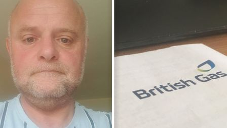British Gas has apologised to David Parrott (pictured) for accidentally switching his energy supply