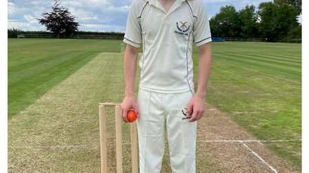 Nathan Mack is settling in at Aythorpe Roding, batting and bowling well in friendly games, and has a