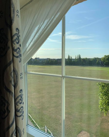 Cambridge's University Arms is the perfect place for your UK staycation this summer. The view of Par