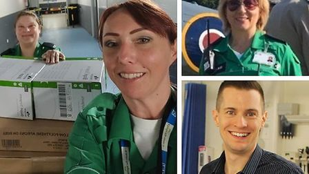 A Covid-19 clinician at Addenbrooke's Hospital in Cambridge has praised St John Ambulance volunteers