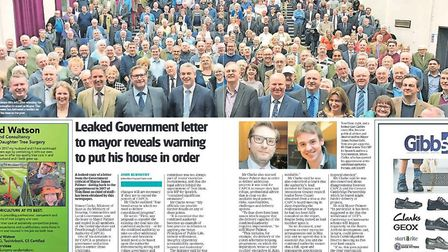 How we roke - exclusively - details of a Government minister's letter to Mayor James Palmer outlinin