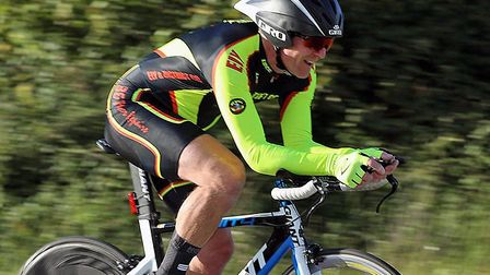 Martin Brown racing in the Ely club event. Picture: DAVEY JONES