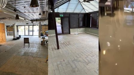 The Arbuckles Downham Market team have shared photos of the progress they are making following a flo