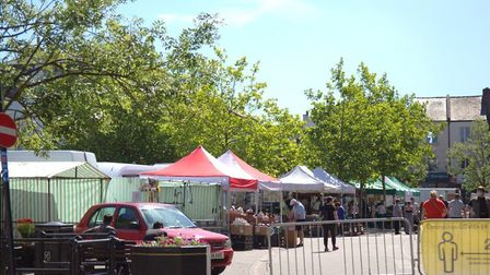 All systems for Wisbech Market Place after the county council pledges £150,000 for enhancements. Pic