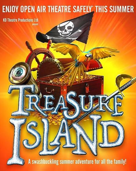 KD Theatre will bring an open air production of Treasure Island to the Dean's Garden of Ely Cathedra