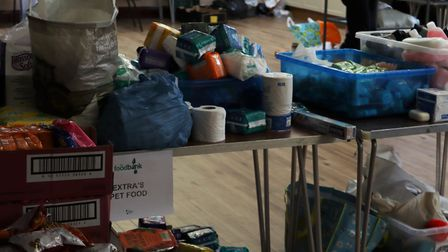 Volunteers from the Chatteris Food Bank have been providing essential items to those who need it mos