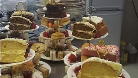 The Cook Family Vintage Tea Room in Robingoodfellow's Lane, March, has re-opened following the coron