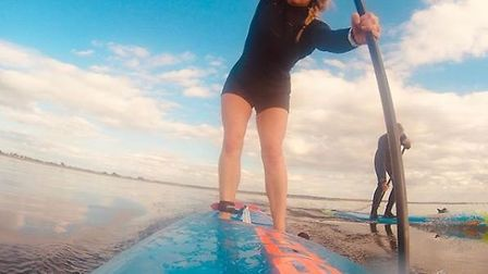 Paddleboard instructor from Ely Samantha Rutt is gearing up to paddle to France and back again to ra
