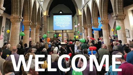 Live socially-distanced services will return at St Mary's Church in Ely on Sunday August 2 as the co