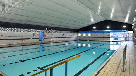 George Campbell Leisure Centre in March. Picture: Archant