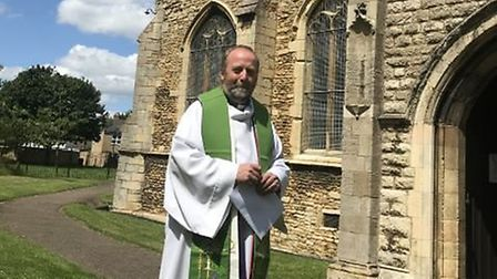 The team rector of Whittlesey, Pondersbridge and Coates, Reverend Nigel Whitehouse, is taking on the