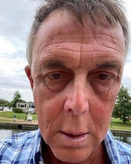 Steve Ridley (pictured) has gone missing after not returning from an evening walk on Monday (July 13