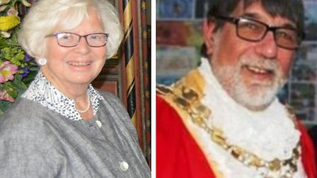 Sheila Friend-Smith and Richard Hobbs have been named Honorary Freeman of Ely. Images: Michael Rouse