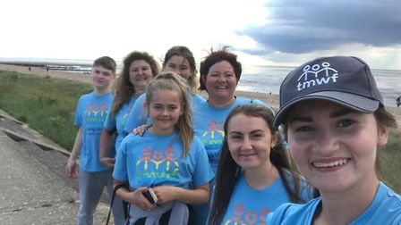 A total of 450 people took part in the Non-Dorset Walk to raise money for the Malcolm Whales Foundat