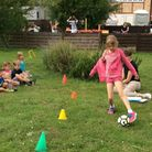 Sports Day with social distance at Takeley Christian School. Picture: SUPPLIED