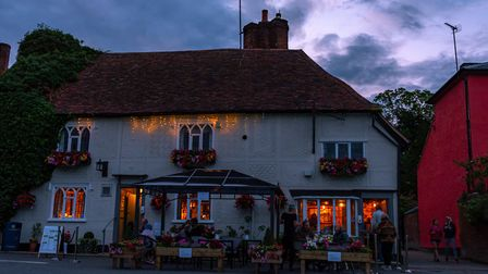 The Fox on the Green in Finchingfield. Picture: Brossiter