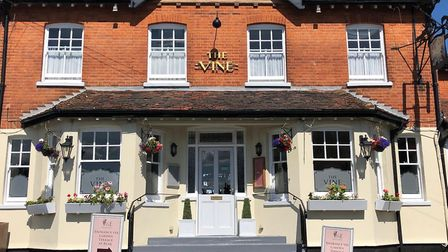 The Vine Bar and Grill in Great Bardfield. Picture: Mary Glover
