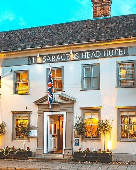The Saracens Head Hotel, Great Dunmow. Picture: The Saracens Head