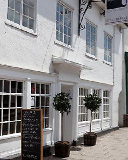 Square 1 Restaurant in Great Dunmow. Picture: Spencer Hewitt