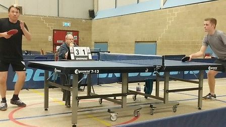 Ely Table Tennis Club is just one of the clubs to benefit from the latest round of funding from Mick