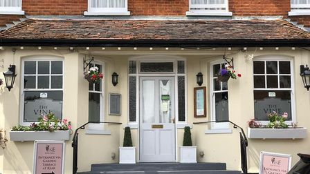The Vine Bar and Grill in Great Bardfield. Picture: The Vine
