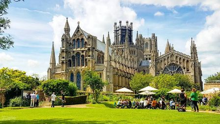 More than 250 people visited Ely Cathedral on Wednesday (July 29) as it reopened after more than 130