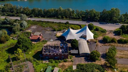 Mepal Outdoor Leisure Centre. Aerial views taken on July 31st show the scope and scale of the centre