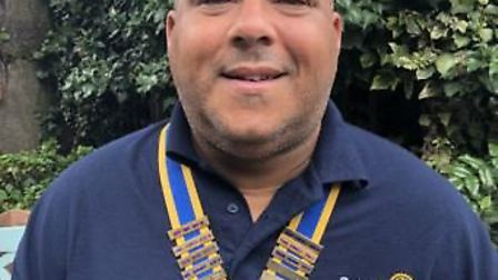 Keith Evans has been named as the new president of Ely Hereward Rotary Club. Picture: ELY HEREWARD R