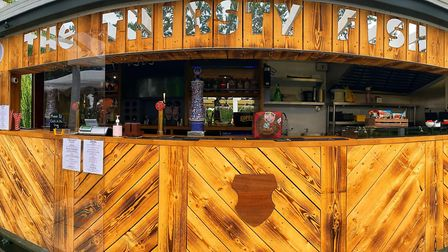 The Three Pickerels in Mepal has unveiled its one-of-a-kind outdoor container bar as the team adjust