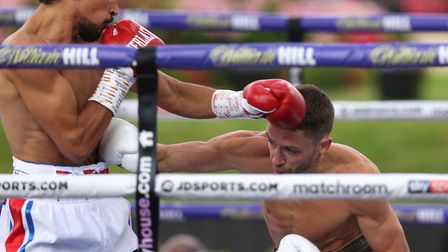 Chatteris boxer Jordan Gill marked his comeback to the ring in style with a points victory over Reec