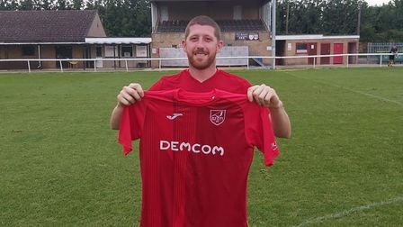 Ely City have welcomed back defender Tom Williams following a short spell at Lakenheath. Picture: LU