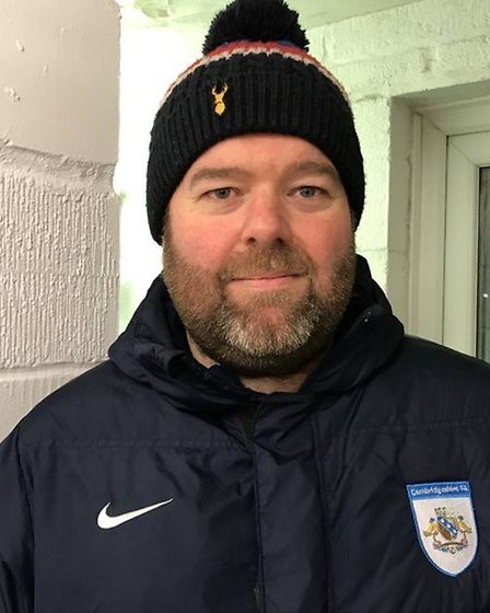 Ely City joint-manager Luke McAvoy hopes to build team spirit during pre-season. Picture: DAN MASON