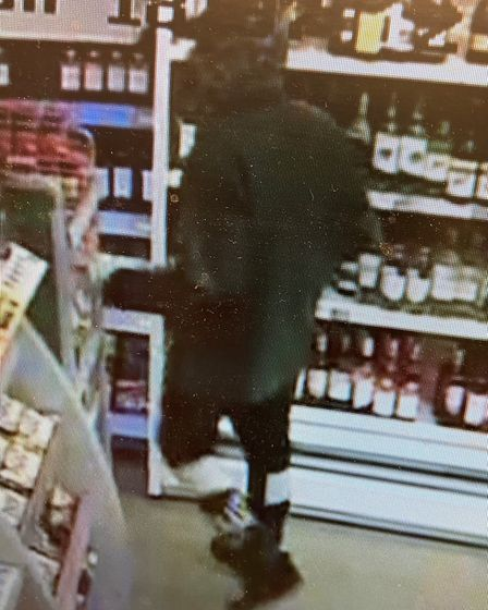 Do you recognise this man? Police are appealing for information following a knifepoint robbery at th