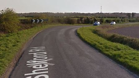 A man who was cycling along Shelford Road, just outside Fulbourn, died following a collision with a