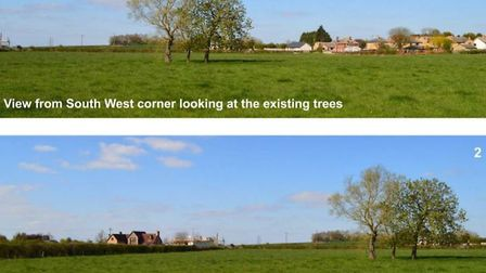 Developers put forward images of the field they want to develop for housing at Witchford Picture; ea