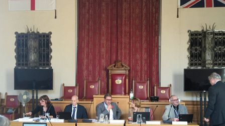 File photo of the overview and scrutiny committee of Cambridgeshire and Peterborough Combined Autho
