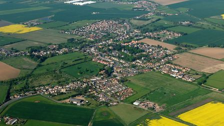 An aerial view of Doddington, near March. The Local Plan outlines the planning policies that will be