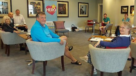 The judging panel of the 2020 Ely Hero Awards met at Poets House to discuss and choose this year's f
