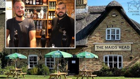 Wicken pub The Maid?s Head served 170 meals on the first day of the government's 'Eat Out to Help Ou