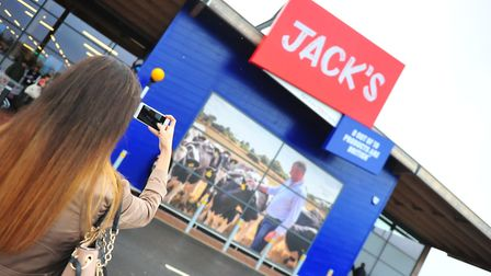 Your chance to win one of six £50 vouchers to spend at Jacks in Chatteris. Picture: HARRY RUTTER