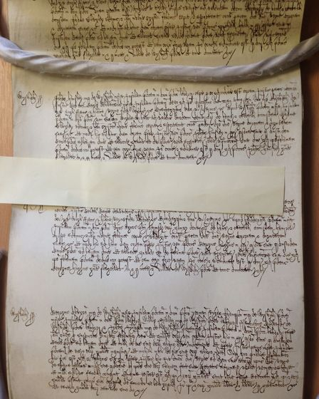 """In 1601, the records show that labourer John Hunsley of Wisbech, confessed to """"feloniously"""" taking 1"""