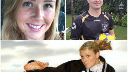 Chris Brown, Jess Crowe and Ashley Moody are all Sporting Hero finalists for this year's Ely Hero Aw