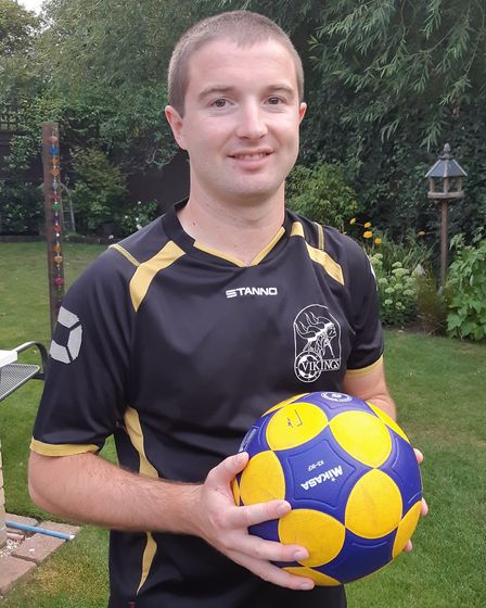 Chris Brown has been nominated as a Sporting Hero for the Ely Hero Awards. Picture: ELY HERO AWARDS