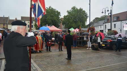 VJ Day (Victory against Japan) commemorated with poingancy in Ely. The deaths of hundreds of men fro