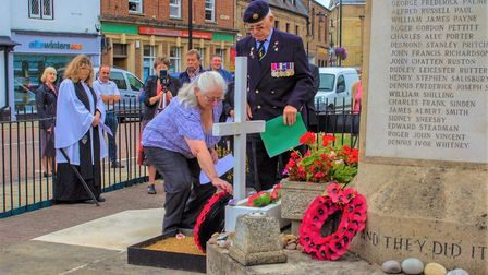 This is how Chatteris commemorted the 75th anniversary of VJ Day. Picture: TINA PRIOR/CHATTERIS ROYA